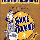 SAUCE PIQUANTE (vintage illustration) by ART INSPIRED BY MUSIC