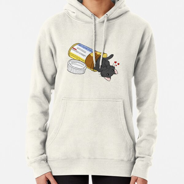 kitty antidepressant love medicine Pullover Hoodie