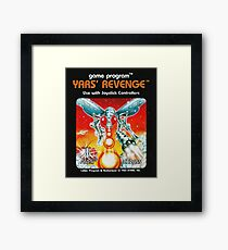 Yars' Revenge Cartridge Artwork Framed Print