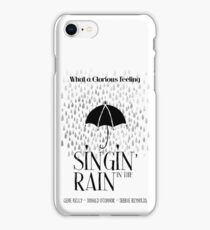 Singin' in the Rain Movie Poster iPhone Case/Skin