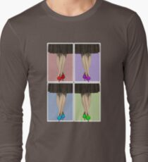 Vibrant Shoes Long Sleeve T-Shirt