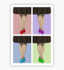 Vibrant Shoes Sticker
