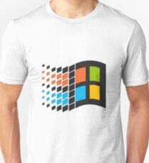 Camiseta unisex Windows 98