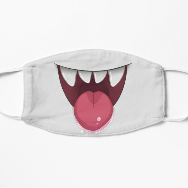 Smiley Boo Ghost Mouth Mask