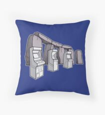 Arcade Henge Throw Pillow