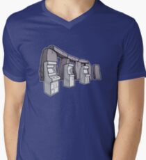 Arcade Henge Men's V-Neck T-Shirt