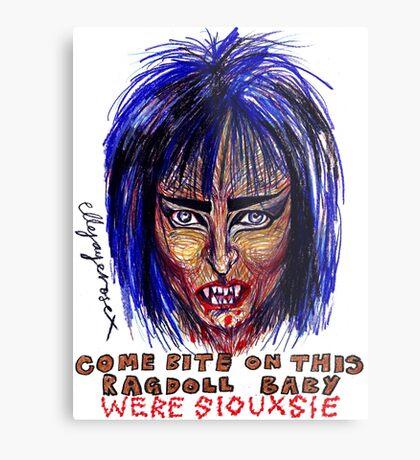 Were Siouxsie Metal Print