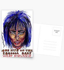 Were Siouxsie Postcards