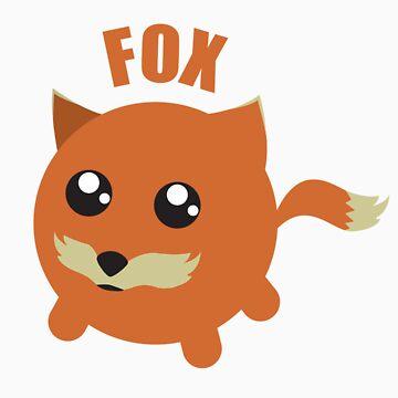 Stone Cold Fox by GenericGlobula