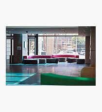 Glass Office  Photographic Print