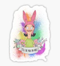 Louise Belcher Sticker