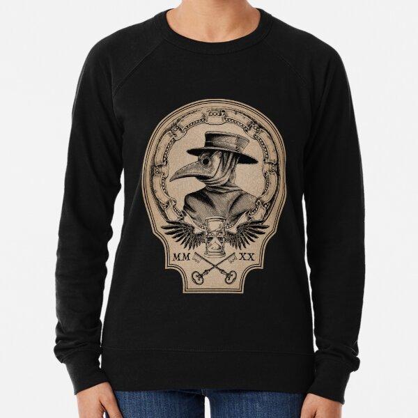 Vintage Plague Doctor Lightweight Sweatshirt