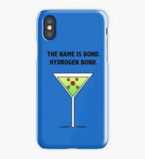 Bond, Hydrogen Bond. iPhone Case