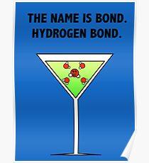 Bindung, Wasserstoffbindung. Poster