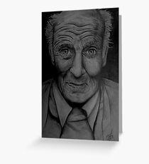 Old man Greeting Card
