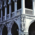 Adam and Eve - Ducal Palace - Venice by Gilberte