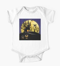 Haunted Halloween Castle Kids Clothes