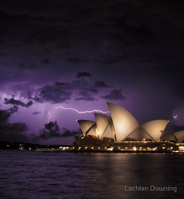 Brooding Skies by Lachlan Downing