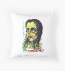 Zombie P J Throw Pillow