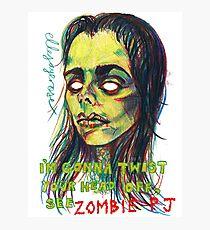 Zombie P J Photographic Print