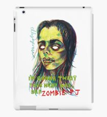 Zombie P J iPad Case/Skin