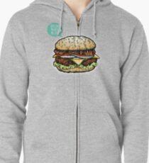 Epic Burger! Zipped Hoodie