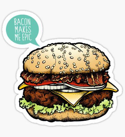 Epic Burger! Sticker