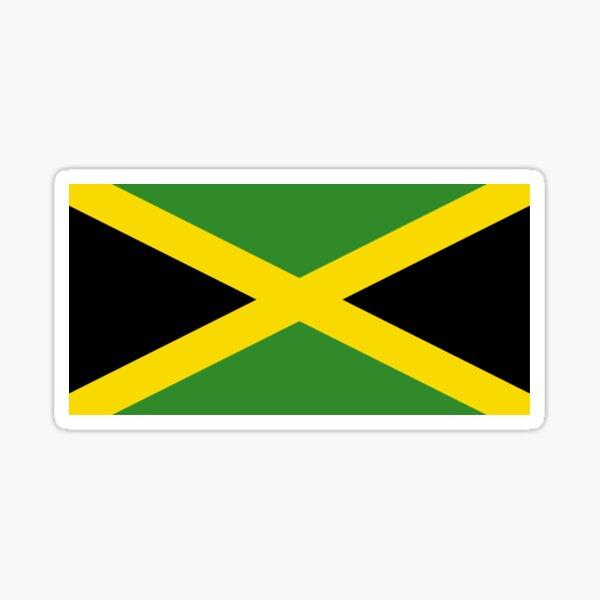 Jamaican Flag - Jamaica T-Shirt Sticker