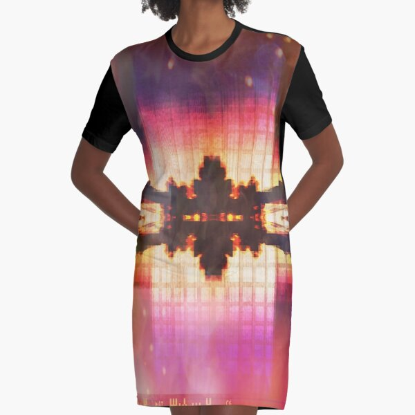 paradise Graphic T-Shirt Dress