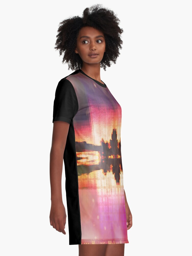 Alternate view of paradise Graphic T-Shirt Dress