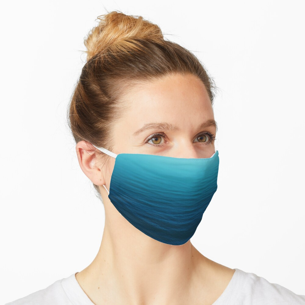 Deep Blue Mask