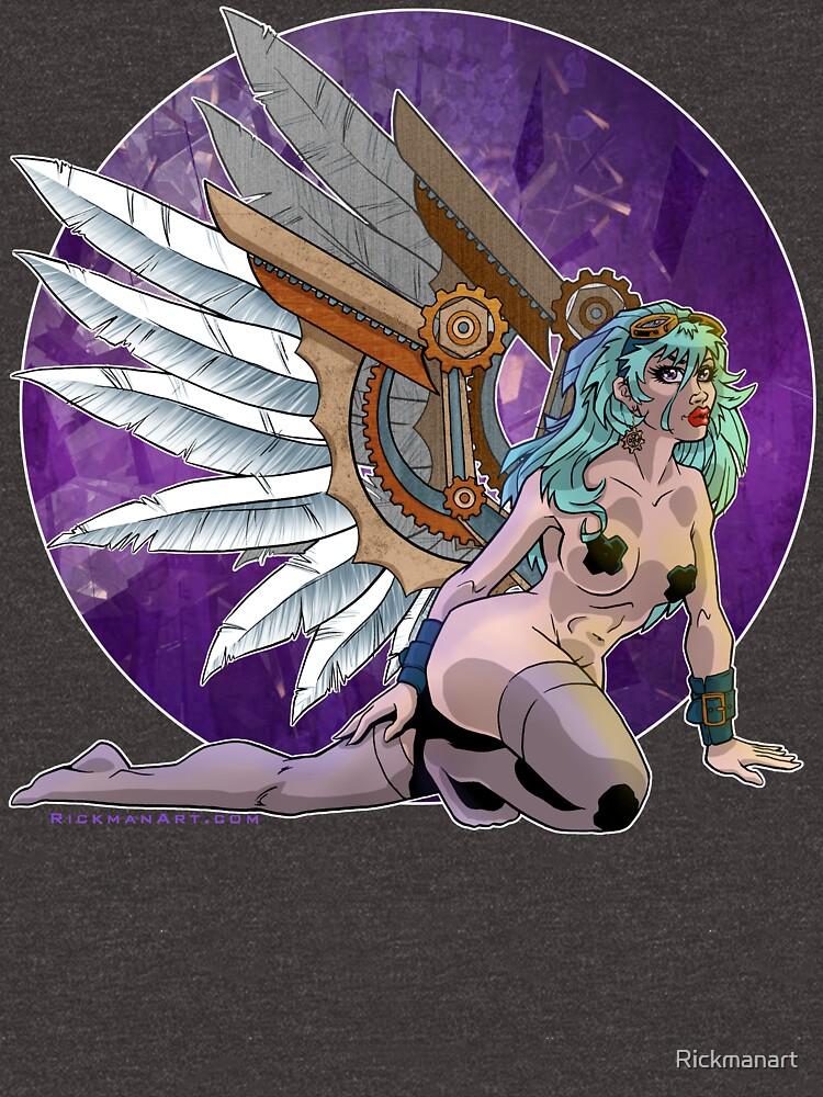 Steam Angel by Rickmanart