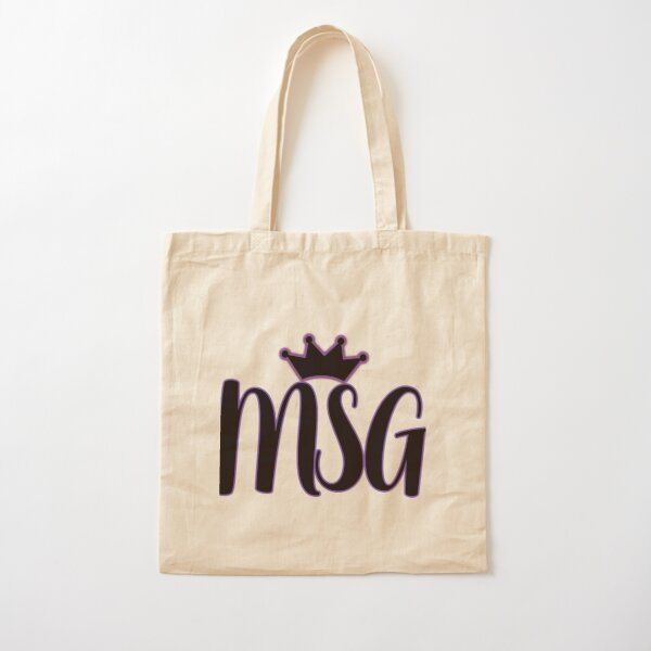 MSG Cotton Tote Bag
