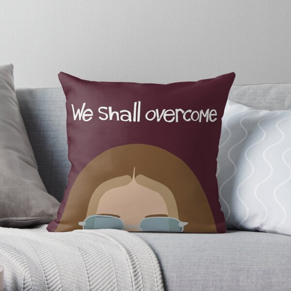 Gloria Steinem Throw Pillow