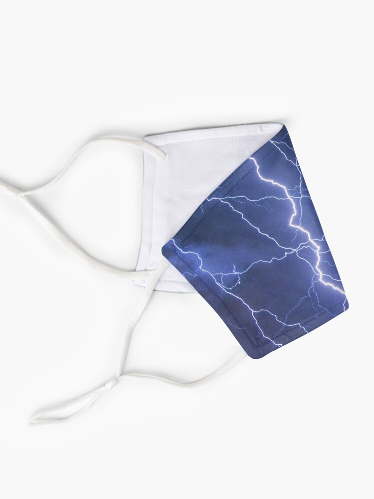 Alternate view of Dazzling blue lightning Mask