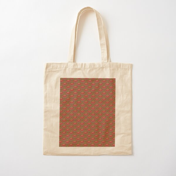 Theater Curtain Art Deco Cotton Tote Bag