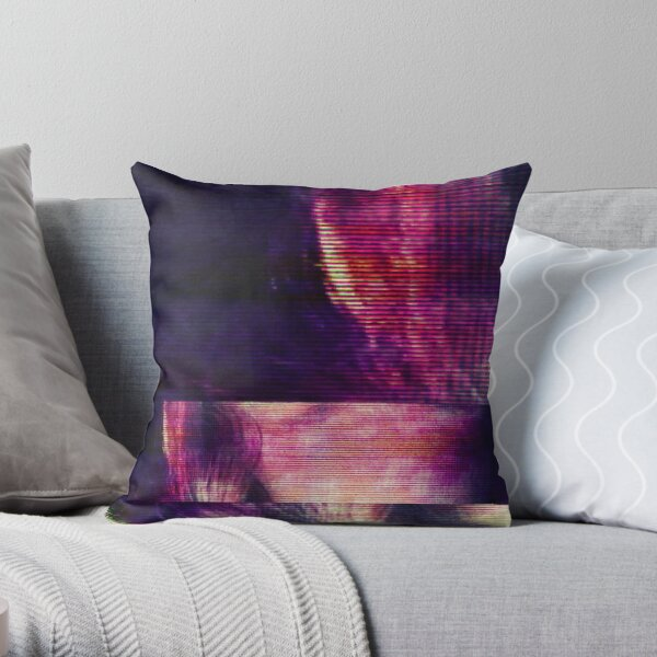 cybersplit Throw Pillow