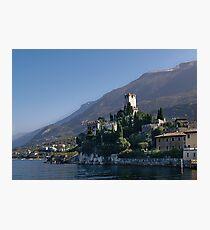 Malcesine Castello Photographic Print