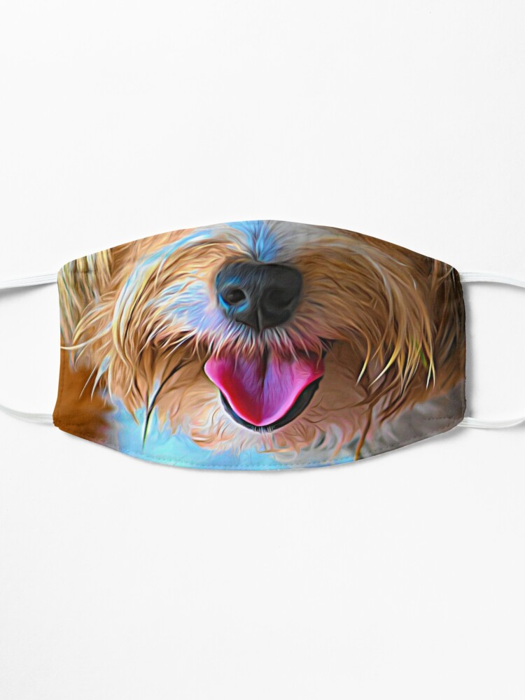 Alternate view of Adorable dog nose mask Mask