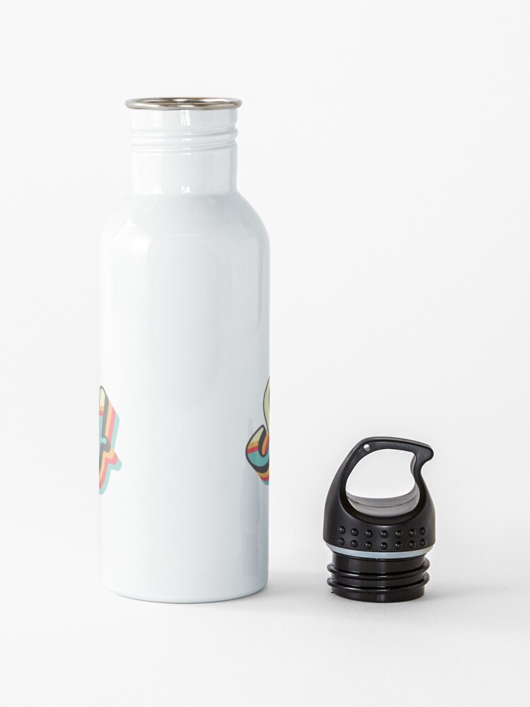 Alternate view of Get Schwifty from Rick and Morty ™ Retro 70s Letters Water Bottle