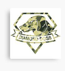 Diamond Camouflage Canvas Print