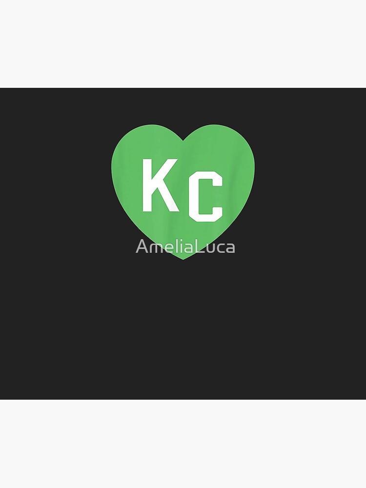 KC Heart Green Kansas City St Patricks Day Irish Love Lucky by AmeliaLuca