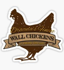 Castlevania - Wall Chickens - Clean Sticker
