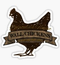 Castlevania - Wall Chickens - Dirty Sticker