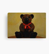 Christmas bear! Canvas Print