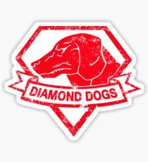 Diamond (Red) Sticker