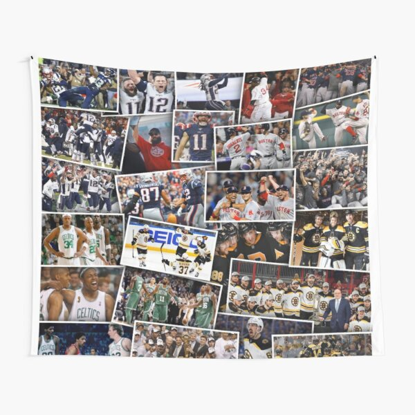 Boston Sports Tapestry