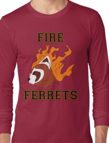 Fire Ferrets Long Sleeve T-Shirt