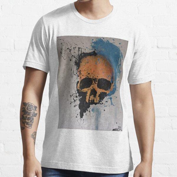 Orange Skull Essential T-Shirt