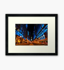 Broad Street City Lights, Philadelphia Framed Print